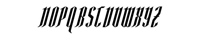 AngloYsgarth Italic Font UPPERCASE
