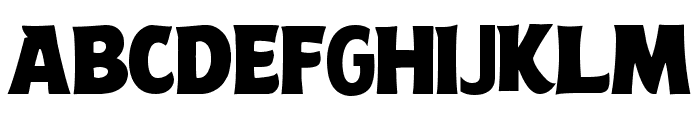 Angry Birds Movie Font LOWERCASE