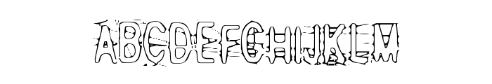 Angry bitch Font UPPERCASE