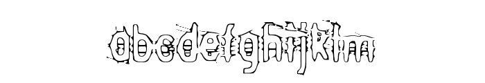 Angry bitch Font LOWERCASE
