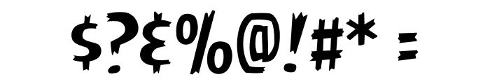 AngryBirds Regular Font OTHER CHARS