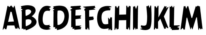 AngryBirds Regular Font UPPERCASE