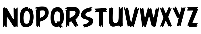 AngryBirds Regular Font LOWERCASE