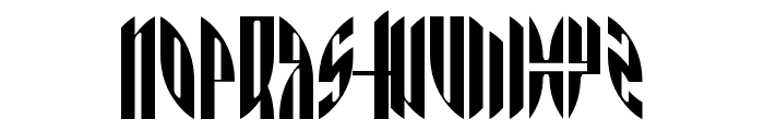 AngryOrange Font UPPERCASE