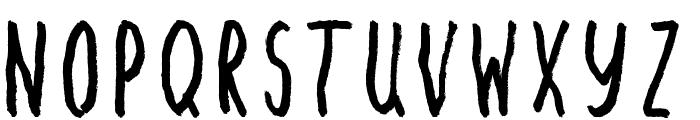 Angst Medium Font UPPERCASE