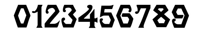 Angular Font OTHER CHARS