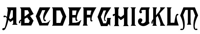 Angular Font LOWERCASE
