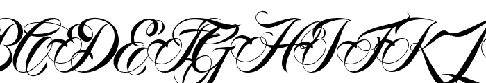 AnhaQueenVMF Font UPPERCASE