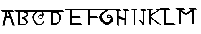 Ani Font UPPERCASE