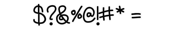 AniBeatriceCursive Font OTHER CHARS