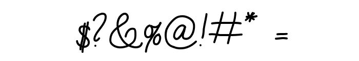 AniLazyDay Font OTHER CHARS