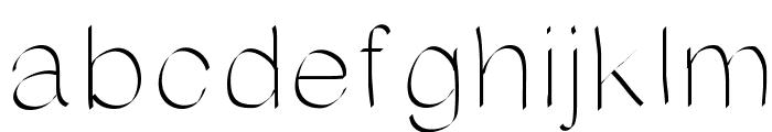AniRandy Font LOWERCASE