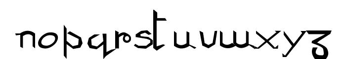 Ani Font LOWERCASE