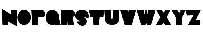 Animal House Font UPPERCASE