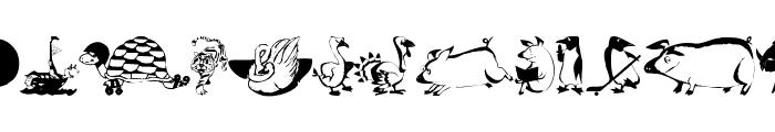 AnimalComedians Font UPPERCASE