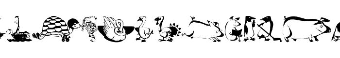 AnimalComedians Font LOWERCASE