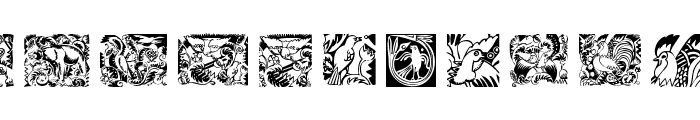 Animalia Font UPPERCASE