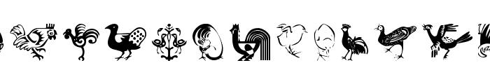Animalia Font LOWERCASE