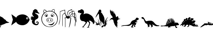 Animals 2 Font UPPERCASE
