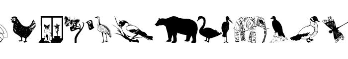 AnimalsAnywhere Font LOWERCASE