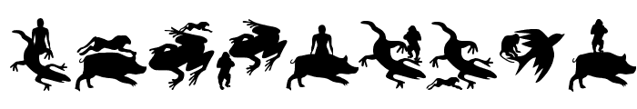 AnimalsMeetings Font OTHER CHARS