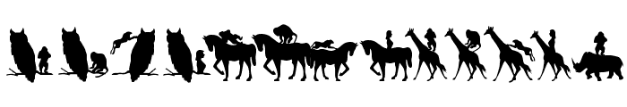 AnimalsMeetings Font LOWERCASE