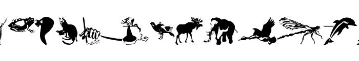 AnimalsPrey-2006 Font LOWERCASE