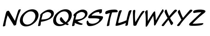 Anime Ace 2.0 BB Italic Font LOWERCASE