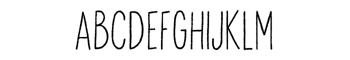 Anitype Redwood 2 Font LOWERCASE