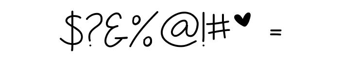 Anjelika Rose Thin Font OTHER CHARS