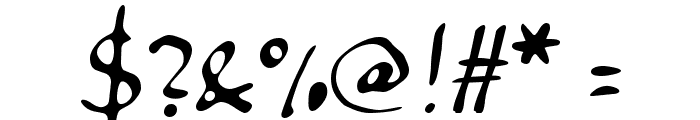Anke Calligraph Font OTHER CHARS