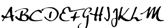 Anke Calligraph Font UPPERCASE