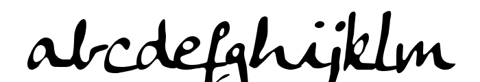 Anke Calligraph Font LOWERCASE