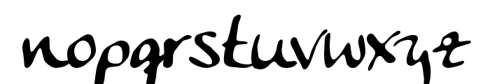 Anke Calligraph Font LOWERCASE