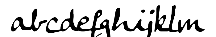 Anke Calligraphic FG Font LOWERCASE