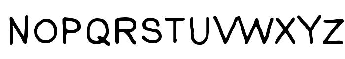 AnkeSans Font UPPERCASE