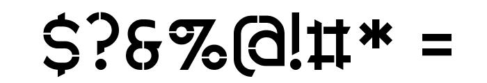 Anklada Novaz - original Font OTHER CHARS