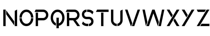 Anklada Novaz - original Font UPPERCASE