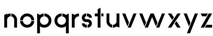 Anklada Novaz - original Font LOWERCASE