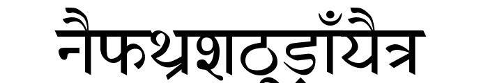 AnmolHindi Font UPPERCASE