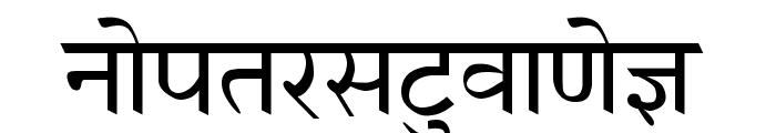 AnmolHindi Font LOWERCASE