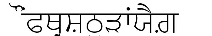 AnmolLipiSlim Font UPPERCASE