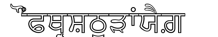 AnmolNeon Font UPPERCASE
