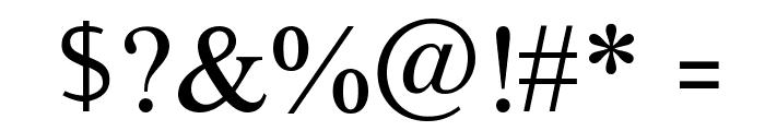 AnmolUni Font OTHER CHARS