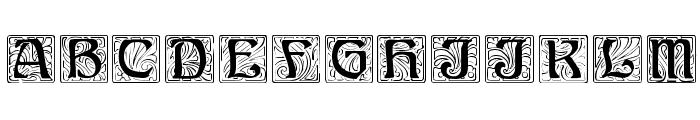 Ann Regular Font UPPERCASE