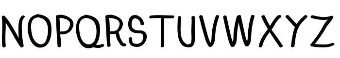 Anna-Bold Font UPPERCASE
