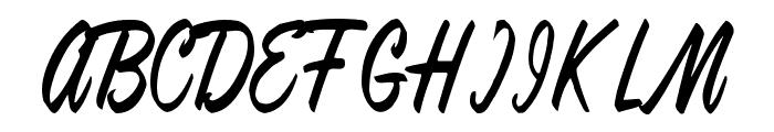 Anna Regular Font UPPERCASE
