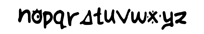 AnnaHand Font LOWERCASE