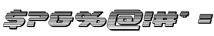 Annapolis Chrome Italic Font OTHER CHARS