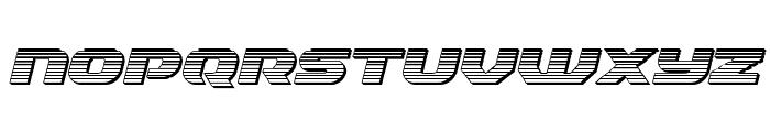 Annapolis Chrome Italic Font UPPERCASE